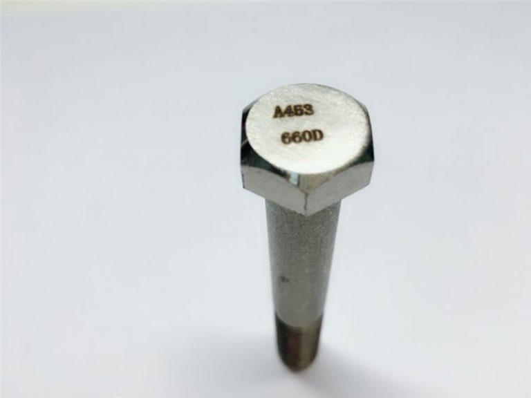 a286 visokokakovostni pritrdilni elementi astm a453 660 en1.4980 strojni vijačni pritrdilni stroji