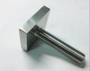 Pritrdilni vijak Nickel Cooper monel400 kvadratni vijak uns n04400