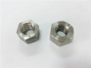 Št. 108 - Posebni pritrdilni elementi iz aluminija imajo matice C276 iz legure