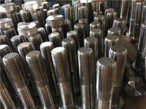 No-šesterokotni vijaki ISO4014 pol navoj A193 B8, B8M, B8T, B8C SS pritrdilni element