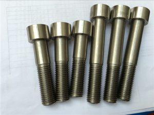 Št. 5 - Pritrdilni element strojne opreme Hastelloy C276 N10276 Vijak za vtičnico
