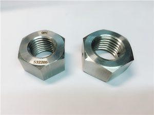 Št.76 Duplex 2205 F53 1.4410 S32750 pritrdilni elementi iz nerjavečega jekla težka šesterokotna matica